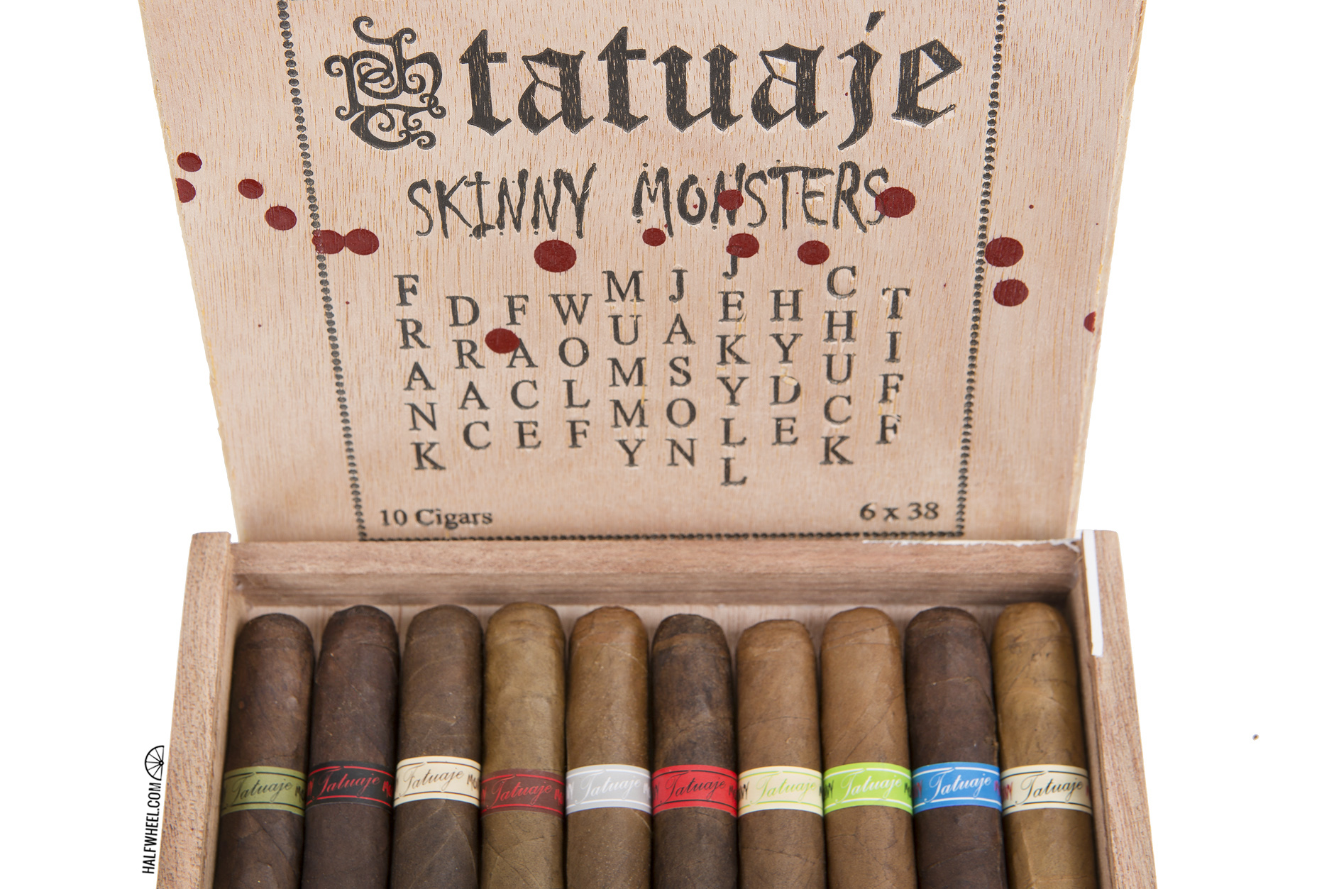 Tatuaje Skinny Monsters Box 2